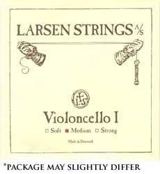 Larsen 4/4 Cello String Set Medium Gauge